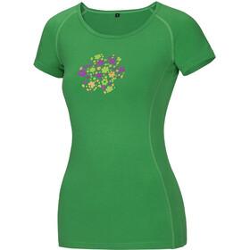 Ocun Bamboo Meadow - T-shirt manches courtes Femme - vert